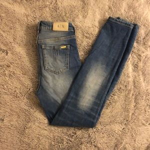 Armani exchange size 25 jeans